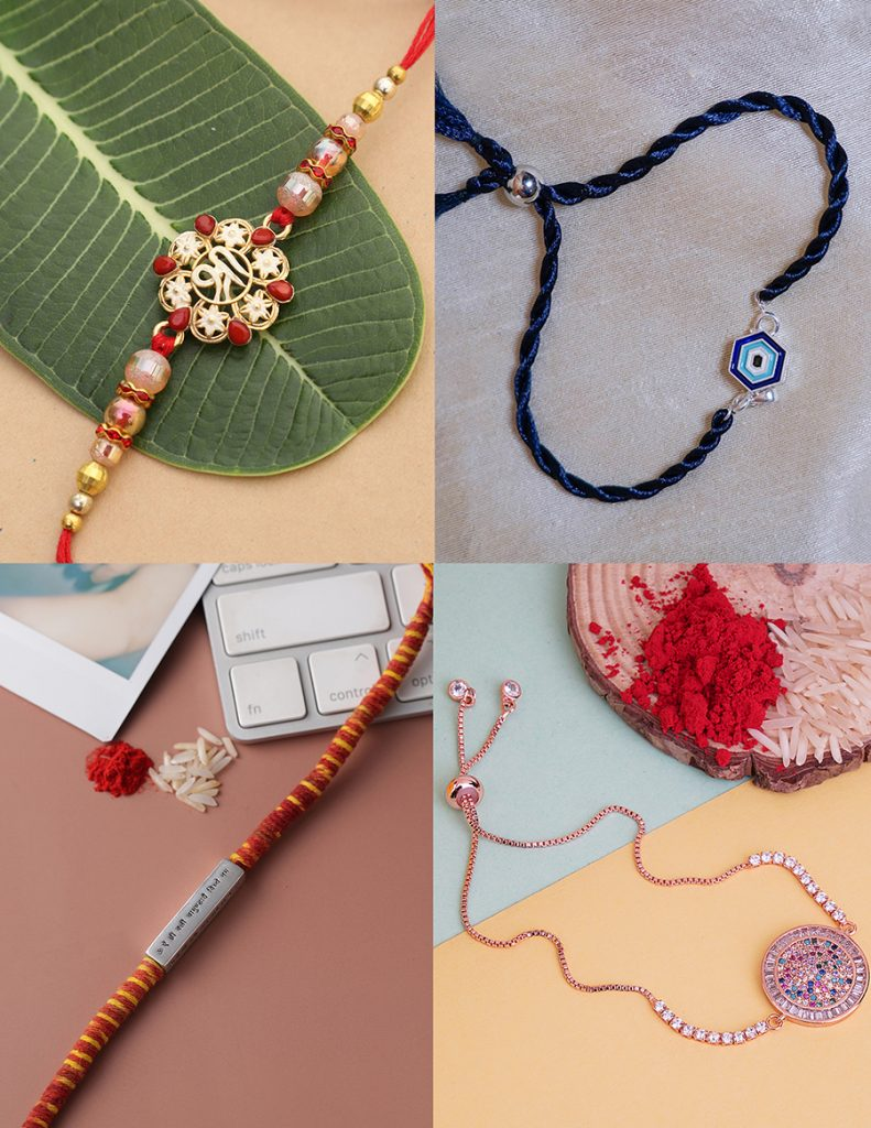 Top to bottom; left to right: Namasya, Hyperbole Accessories, Adorn by Nikita, Auraa Trends